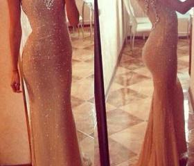Gold Mermaid Prom Dr..